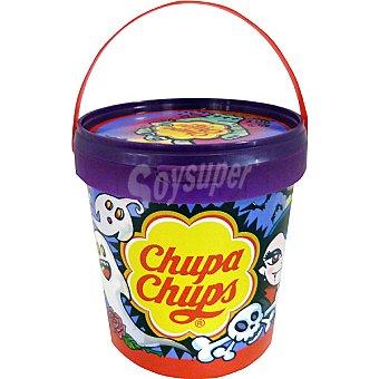 Chupa Chups Bote monster pintalenguas halloween 25 ud