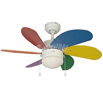 INFANTIL Ventilador de techo de 6 aspas de 76 cm