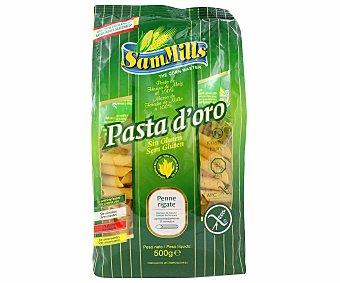 Sam Mills Pasta doro penne rigate de maiz sin gluten Bolsa 500 g