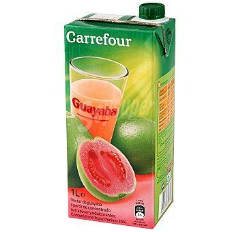 Carrefour Néctar de guayaba 1 l