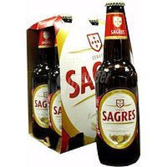 Sagres Cerveza Pack 6x33 cl