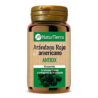 NaturTierra Arándano rojo americano antioxidante ápsulas Envase 30 c