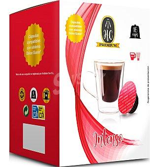 Dolce Gusto Nescafé Cápsulas hc cafe intenso 16 unidades