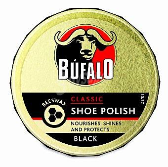 Bufalo Crema color negro para calzado Lata 75 ml