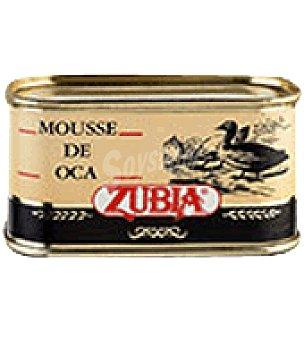 Zubia Mousse de oca 65% higado 130 g