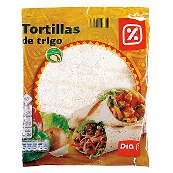 DIA Tortillas trigo Bolsa 8 unidades - 320 gr