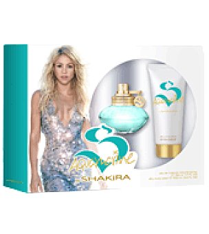 Shakira Estuche Colonia Aquamarine spray 50 ml. + body lotion 100 ml. 1 ud