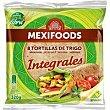 Tortillas integrales paquete 320 g Mexifoods