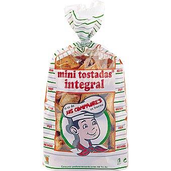 Los Compadres Mini biscotes integrales Bolsa 300 g