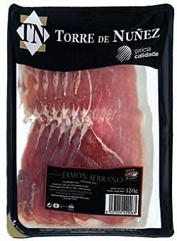 Torrez Nuñez Jamón serrano Sobre 120 g