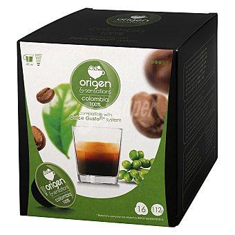 Origen & Sensations Café de Colombia 16 c