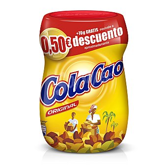 Cola Cao Cacao soluble Bote 400 g