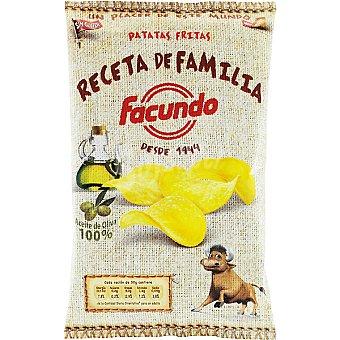 Facundo Patatas fritas Receta de Familia aceite de oliva 100% Bolsa 150 g