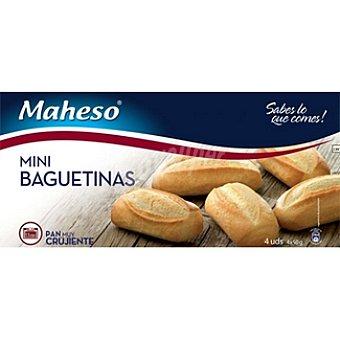 Maheso Mini baguetinas bolsa 200 g 4 unidades