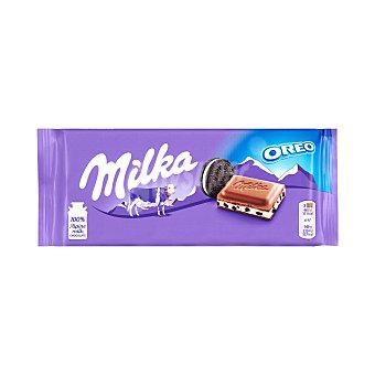 Milka Chocolate con leche con trozos de galleta con cacao 100 gramos