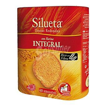 Silueta Bimbo Tostas redondas con harina integral 300 g