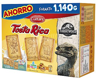 Rica Galletas tostadas 6 vitaminas tosta 1140 g