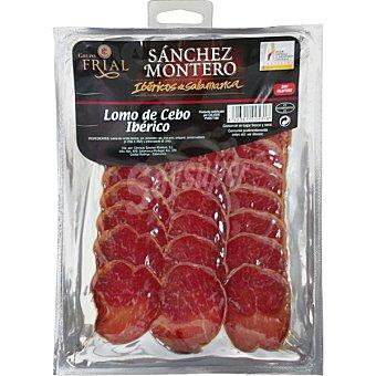Sanchez Montero Lomo ibérico de cebo en lonchas Sobre 100 g