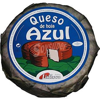 LISFERSA Queso de hoja azul  2,5 kg (peso aproximado pieza)