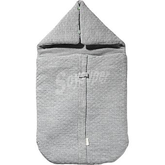 DOMBI Saco de punto con capucha en color gris vigore