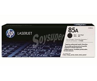 HP Tóner tinta CE285A, Negro, aprox. 1600 paginas, compatible con impresoras: P1102 / P1102w / M1132 / M1212 / M1214 / M1217