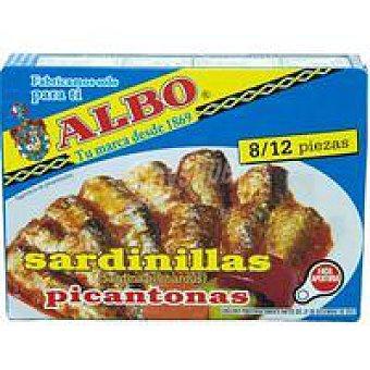 Albo Sardinilla en salsa picantona Lata 105 g