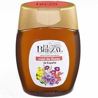 EL BREZAL Miel de flores Frasco 350 g