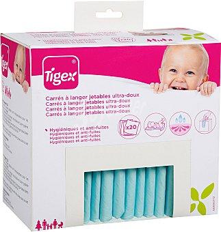 Tigex Cambiador desechable 20 unidades