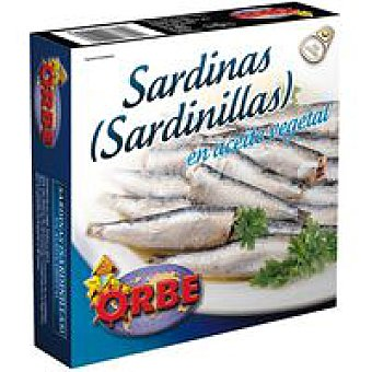 Orbe Sardinilla en aceite Lata 266 g