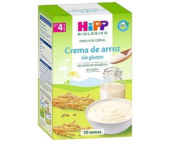 HiPP Biológico Papilla de crema de arroz a partir de 4 meses 400 g
