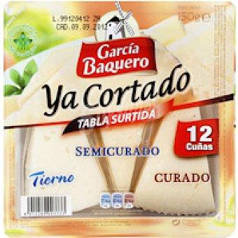 García Baquero Tabla quesos mezcla Bandeja 150 g