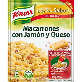 Knorr Sazonador de macarrones con jamón y queso Sobre 28 g