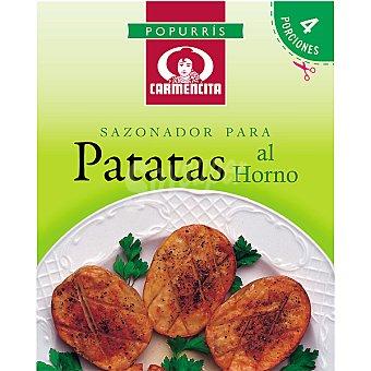 Carmencita Sazonador especial para patatas al horno Sobre 7 g