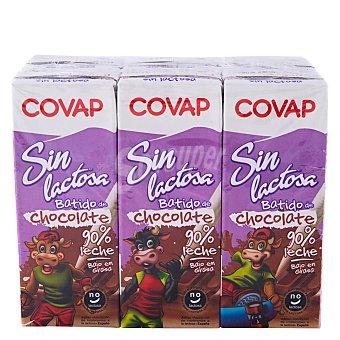 COVAP Batido de cacao Sin Lactosa pack 6 envases 200 ml