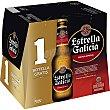 Cerveza rubia especial  pack 11 botellas 25 cl Estrella Galicia