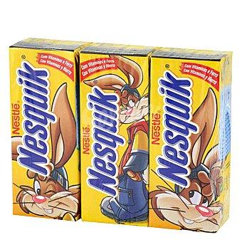 Nesquik Nestlé Batido de cacao Pack 3x200 ml