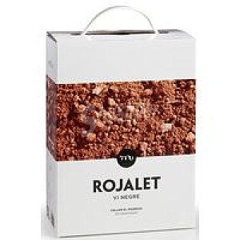 Rojalet Vino tinto bag in box D.O. Catalunya 3 l
