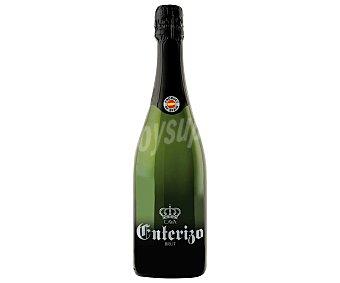 Enterizo Cava brut elaborado en España botella de 75 cl