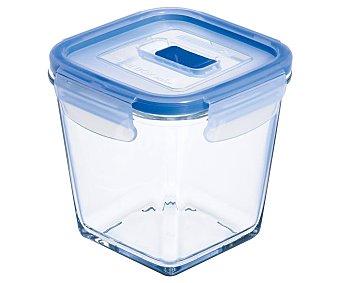 LUMINARC Pure Box Active Recipiente hermético cuadrado de vidrio templado Pure Box Active, 0,75 litros, LUMINARC. 0,75 litros