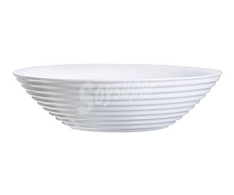 Luminarc Cuenco multiúsos de 16 centímetros de diámetro fabricado en vidrio blanco, serie Harena luminarc