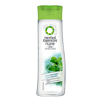 Herbal Essences Champú volumen Nude con extractos de pomelo y menta 250 ml
