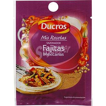 Ducros Sazonador para fajitas mexicanas Mis recetas sobre 14 g