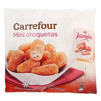 Carrefour Mini croquetas de jamón 500 g