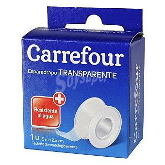 Carrefour Esparadrapo transparente resistente al agua 1 ud