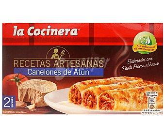 La Cocinera Canelones de atún Caja 530 g