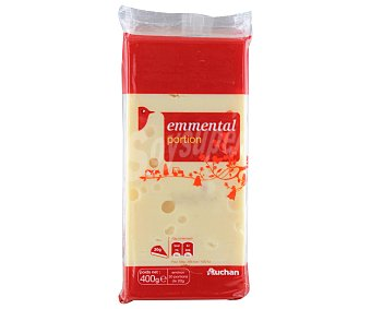 Auchan Queso Emmental Francés 400 Gramos
