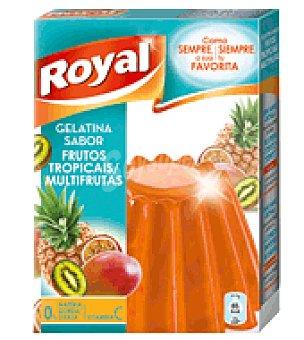 Royal Gelatina sabor multifrutas y frutos tropicales 10 raciones estuche 170 g Estuche 170 g