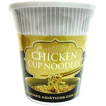 Tiger Khan Tallarines asiáticos con pollo Envase 60 g