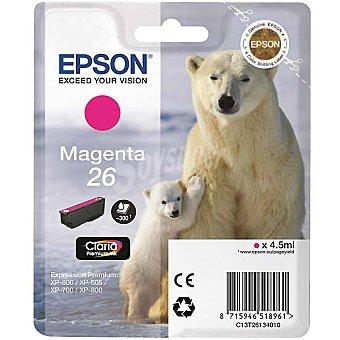 Epson Nº 26 cartucho de tinta color magenta