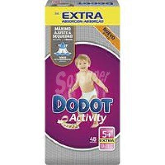 DODOT Activity Extra Pañal 13-19 kg Talla 5 Paquete 48 unid